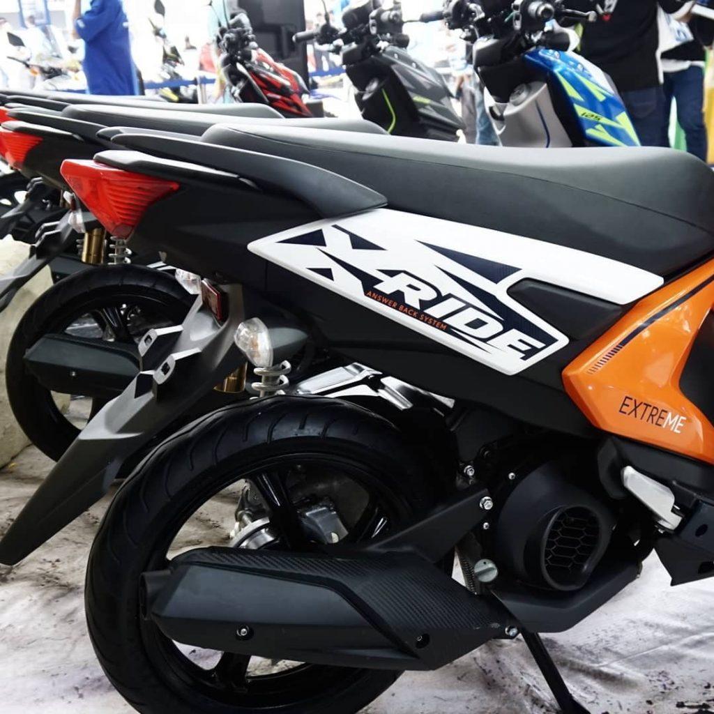 Bagian Buritan Yamaha All New X-Ride 125 Terbaru