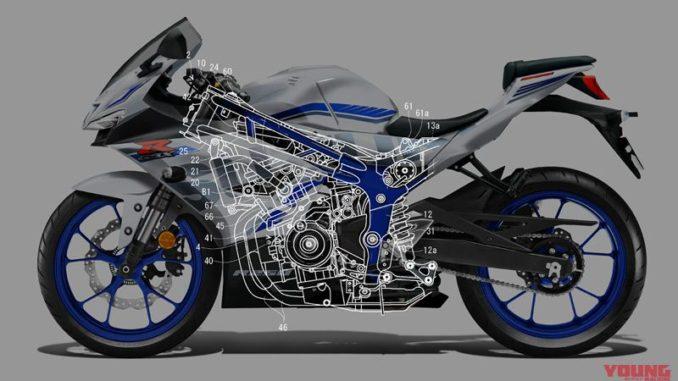 Konfigurasi Sasis dan Mesin pada Bodi, Pake Stang Underyoke Seperti Suzuki GSX-R150