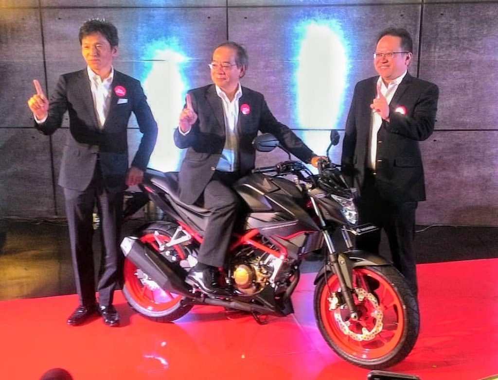 New Honda CB150R Street Fire Resmi Dirilis AHM