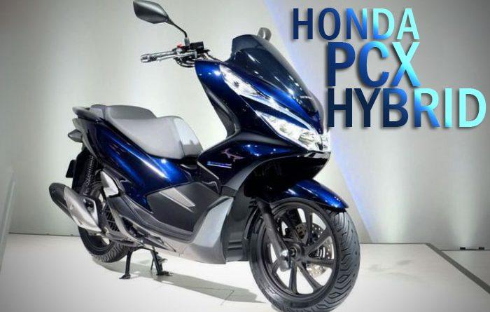 Honda PCX Hybrid moladin blog
