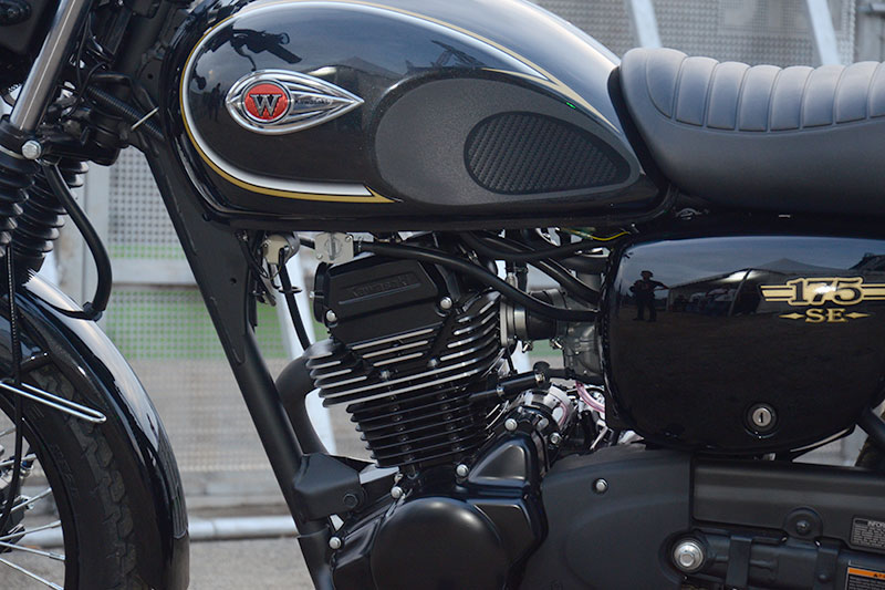 Mesin Bersilinder Tunggal Kawasaki W175 Cukup Bisa Diandalkan Ketika Melibas Tanjakan