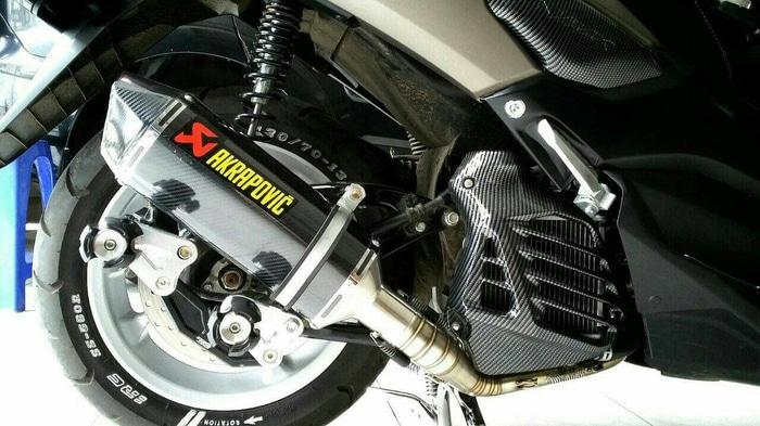 Ubah Knalpot Standar Jadi Racing, Knalpot Nmax