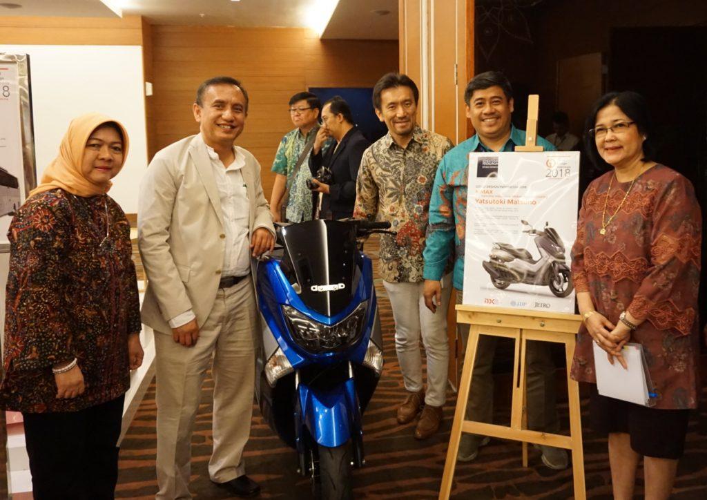 Yamaha Nmax Sabet Penghargaan dari KEMENDAGRI