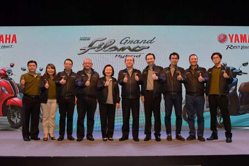 Yamaha Thailand Resmi Merilis New Grand Filano Hybrid, Motor Hybrid Pertama Yamaha