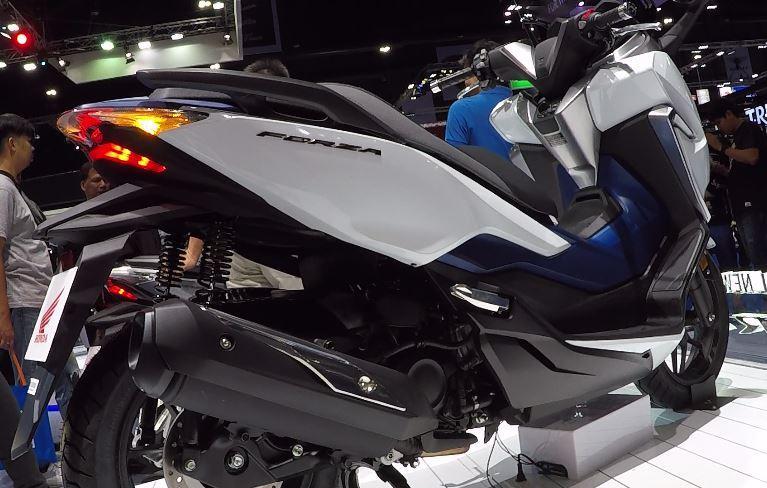 Honda Forza 300 Yang Lebih Dulu Meluncur Di Thailand