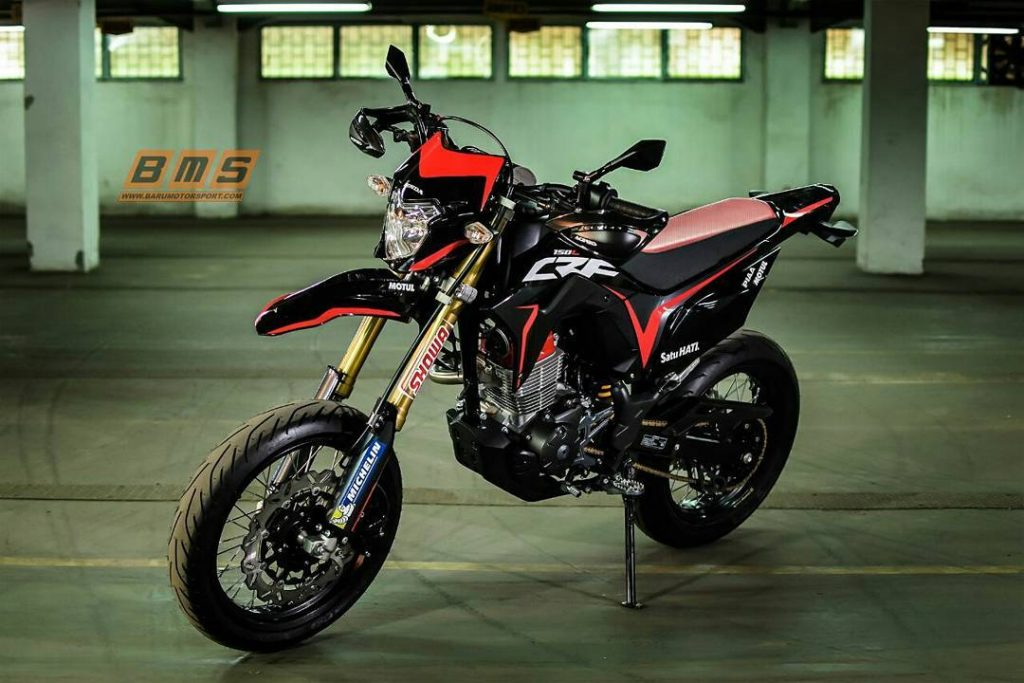 Crf150 Supermoto Dan Forza 250 Motor Baru Yang Bakal Nongol Di Giias 2018 Moladin