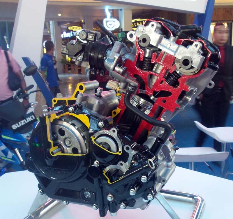 Mesin Varian Warna GSX-R150 Terbaru
