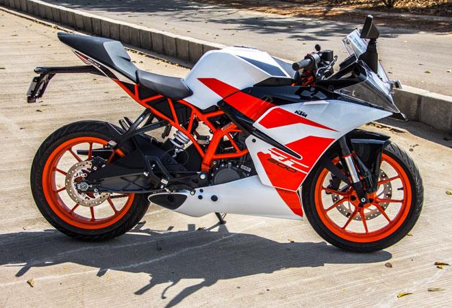 Varian New KTM RC 200 Warna Putih