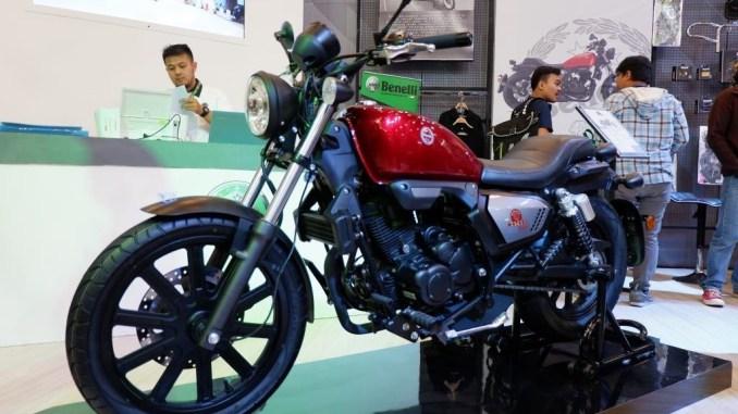Desain Benelli Motobi 200 Evo