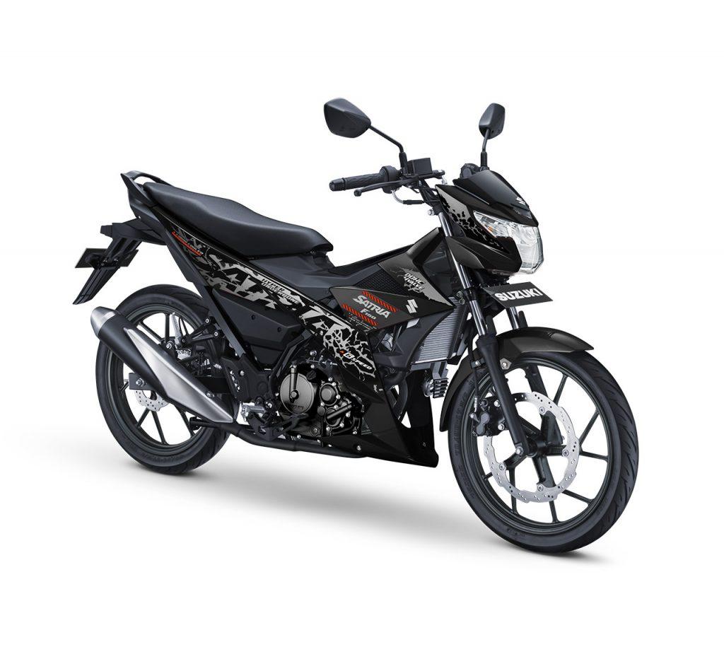 warna baru Suzuki Satria F150 Titan Black