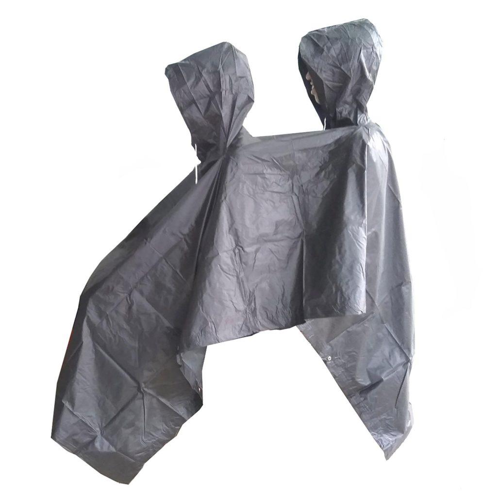 jas hujan ponco 2 kepala