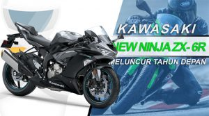 kawasaki new ninja zx-6r 2019