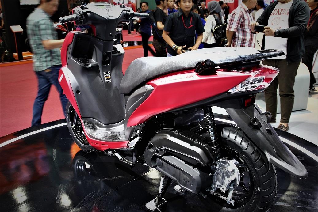 mesin yamaha freego 125cc
