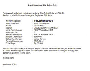 bkti registrasi online