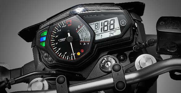 speedometer mt 25