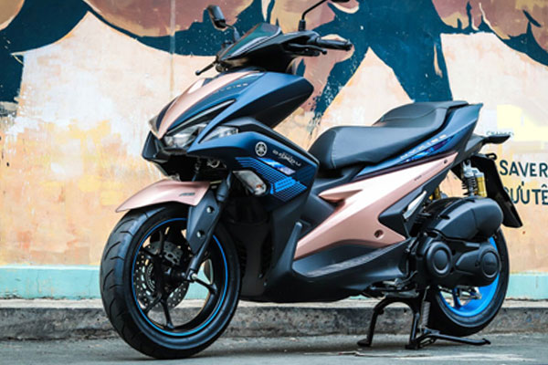 Yamaha Aerox & MX King versi terbaru