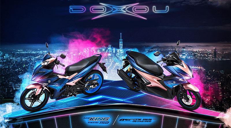 Baru Muncul Yamaha Aerox & MX King Doxou Version, Vietnam Lebih Dulu Start!