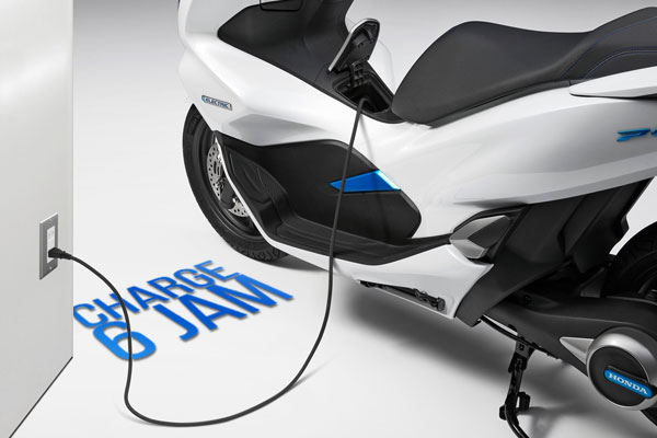 charging pcx electric