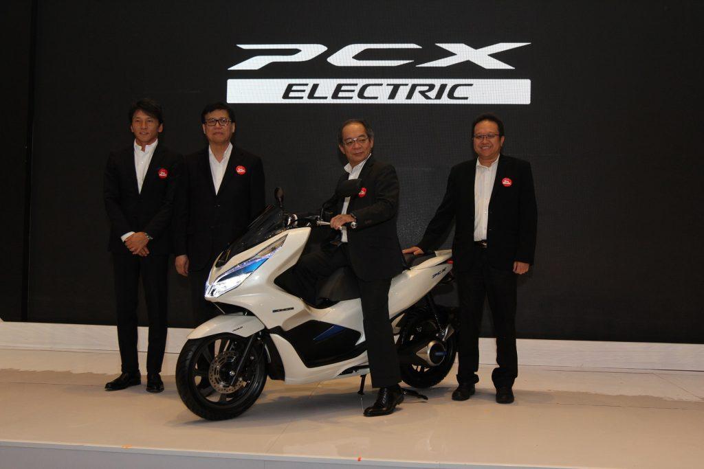 pcx elektrik resmi di rilis