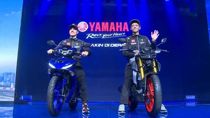 Peluncuran Yamaha MT-15 dan New MX-King