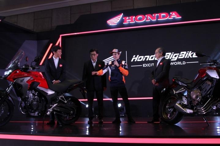 Marc Marquez di Honda Sport Motorshow 2019