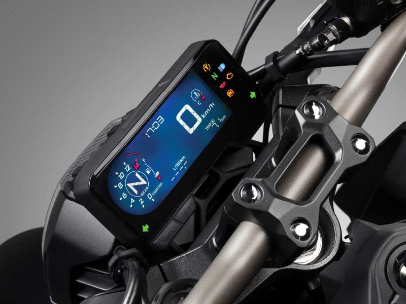 Layar LCD Honda CB650R