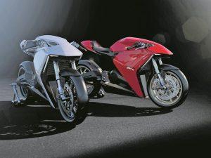 Motor Listrik Ducati. Foto Pool MCN
