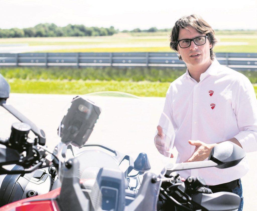 Motor listrik Ducati