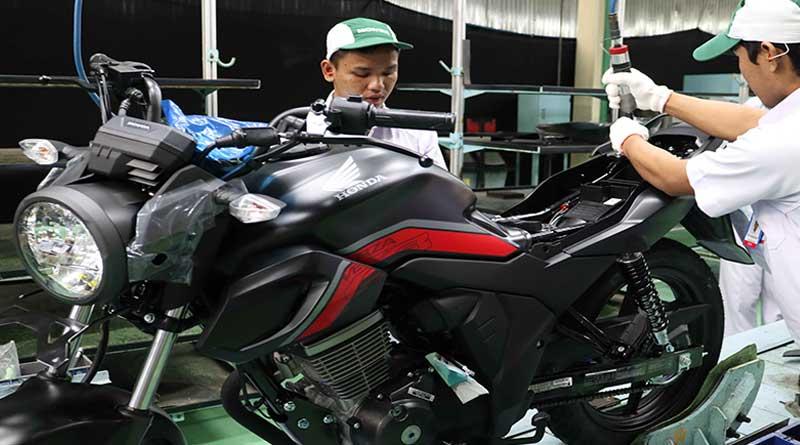 Honda CB150 Verza lampu