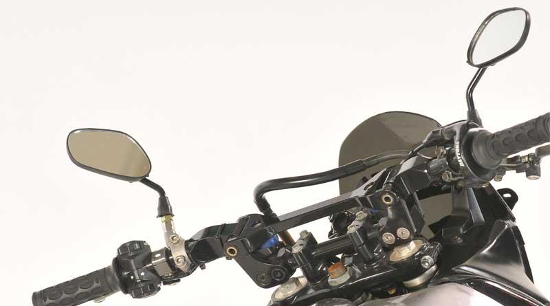 Warna pelek yang cocok untuk motor warna hitam, modifikasi spion