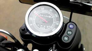 kekurangan kawasaki w175, speedometer tanpa indikator bahan bakar