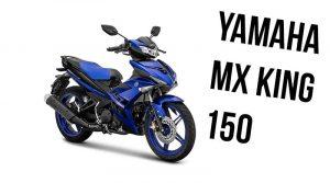 Yamaha MX King 150, Motor Bebek Bergaya Sporty Dengan 3 Pilihan Warna