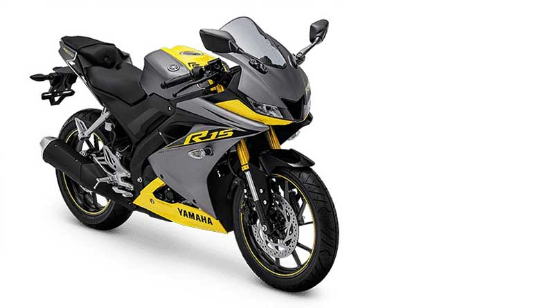 Yamaha All New R15 Racing Yellow