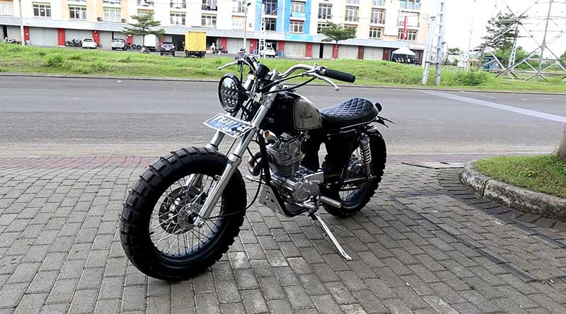 modifikasi yamaha fino cafe racer