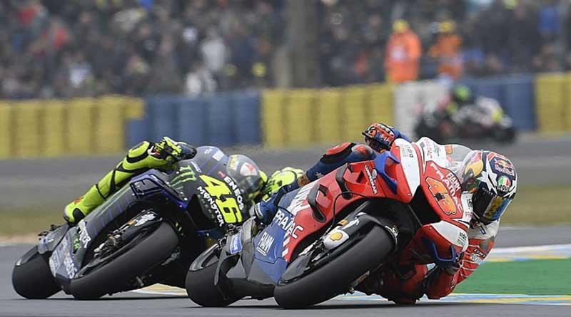 Rossi tak mampu susul Ducati,