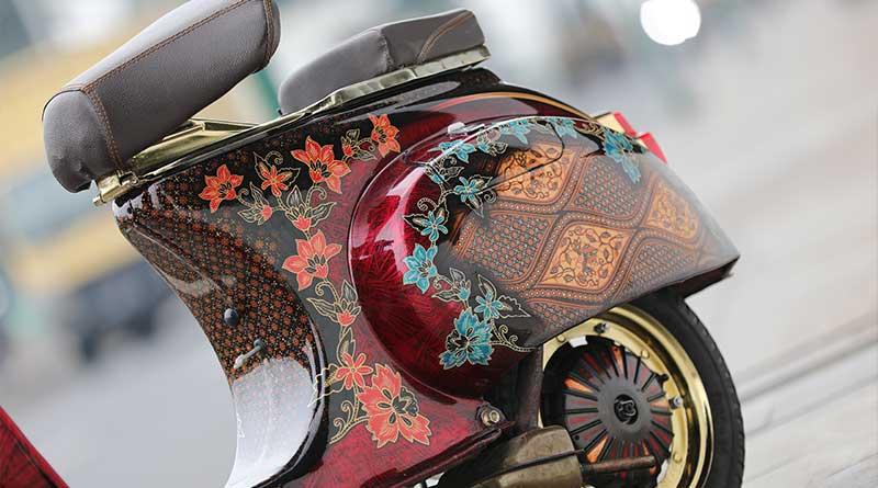 airbrush bercorak batik