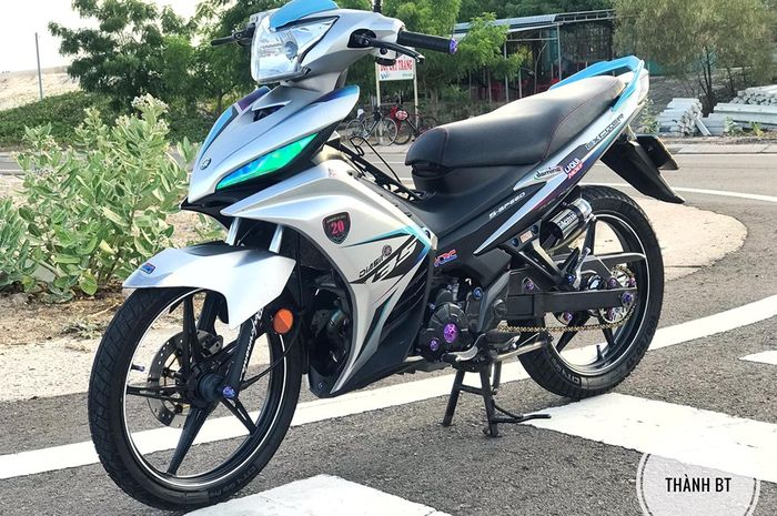 Modifikasi Yamaha Jupiter MX modifikasi simpel nan elegan