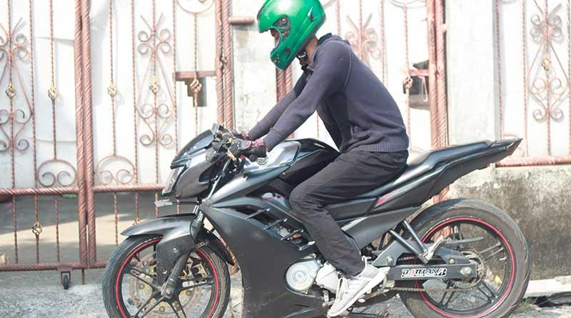 Posisi riding harus dibuat nyaman