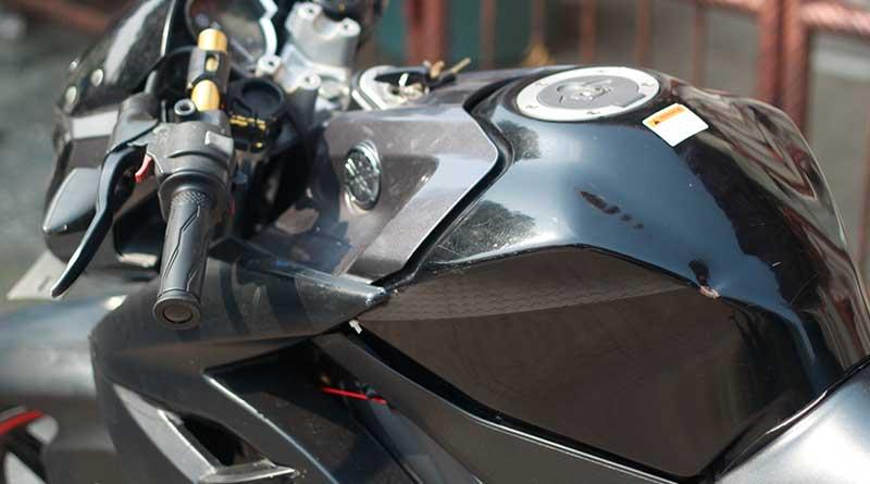 Yamaha Vixion punya kapasitas tangki 12 liter
