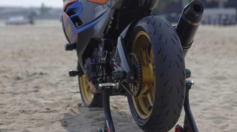 Kaki-kakinya diubah mirip MotoGP