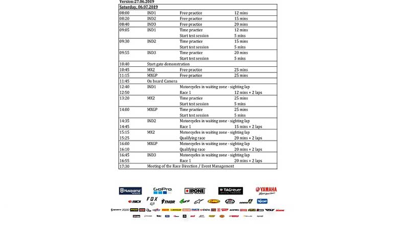jadwal lengkap mxgp seri palembang