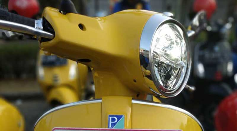 Headlamp Vespa