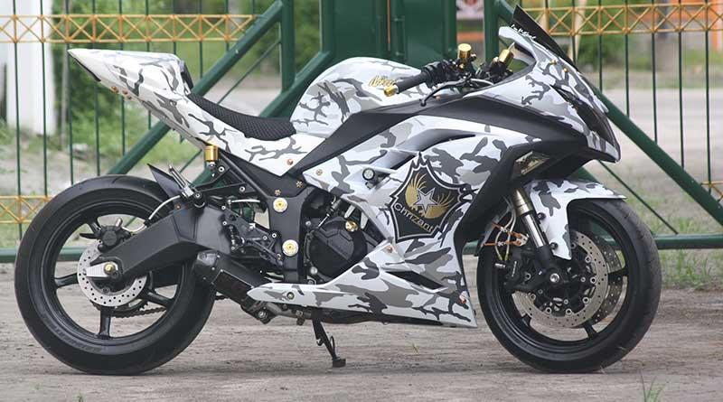 Kawasaki NInja Army Look