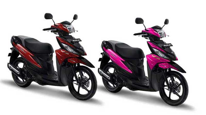 Pilihan Warna Suzuki Addres Playful