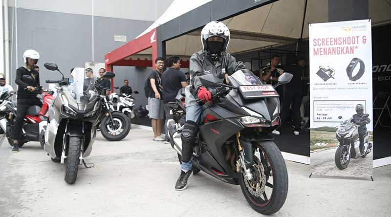Test Ride GIIAS 2019