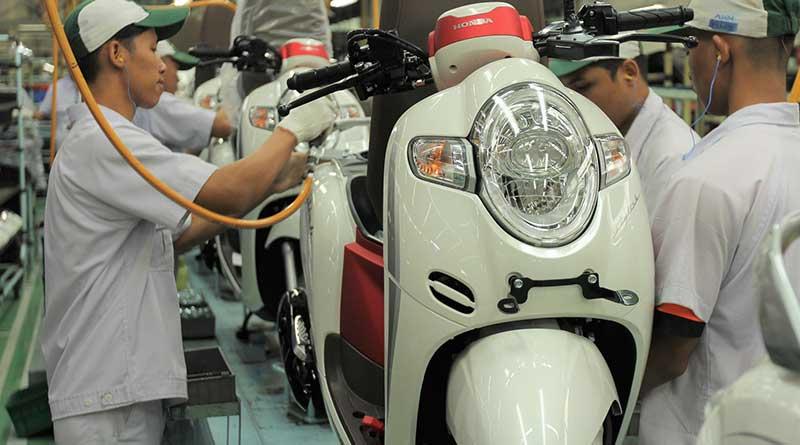 Headlamp Honda Scoopy