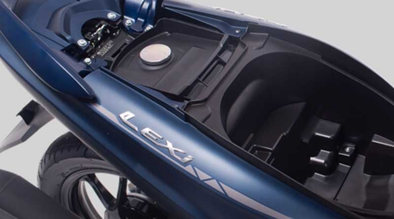 Bagasi Yamaha Lexi