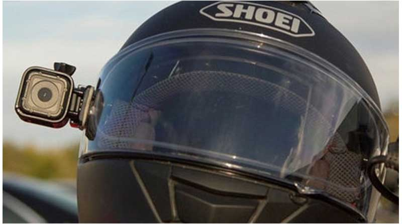 Aaction Cam Di Helm Shoei