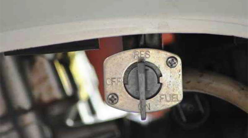 fungsi kran bensin