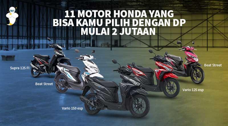 11 Motor Honda Terbaru